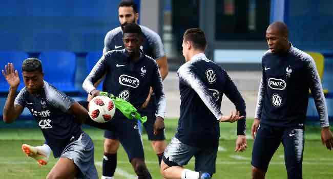 France Battle For Place In World Cup Final Against Belgium