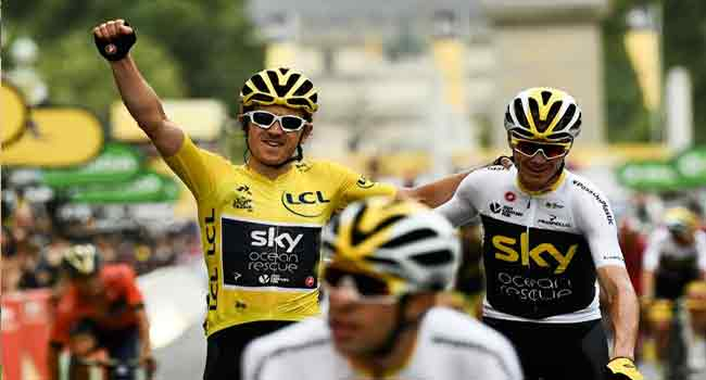 Wiggins Tips Thomas For More Tour De France Glory