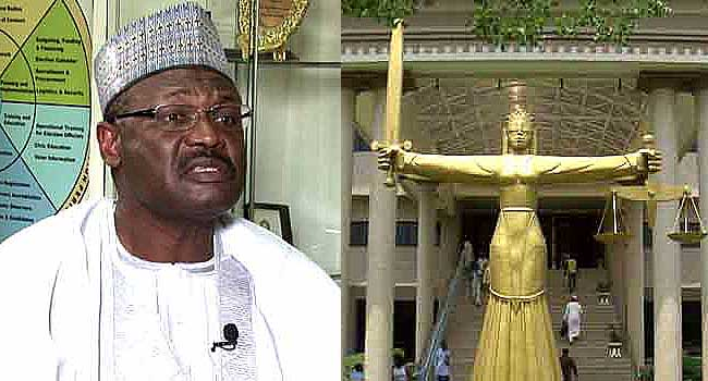 INEC Chairman Shuns Court Order