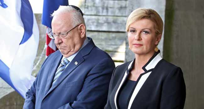 Israeli President Urges Croatia To 'Deal With Past'
