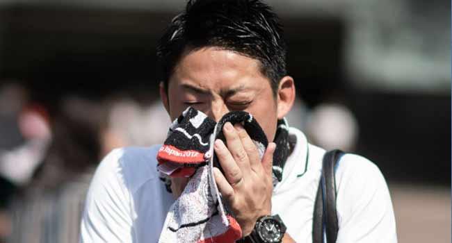 Japanese Heatwave Kills 65 In One Week