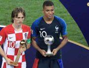 Croatia's Modric Wins World Cup Golden Ball