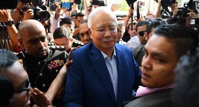Malaysia's Najib: From Powerful PM To Graft Suspect