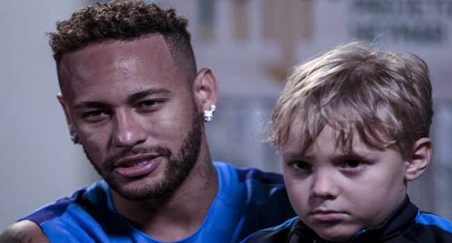 Neymar Blames 'Brattish' Behaviour On His Inner Child
