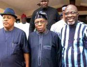 2019 Elections: PDP Leaders Visit Obasanjo, Beg For Forgiveness