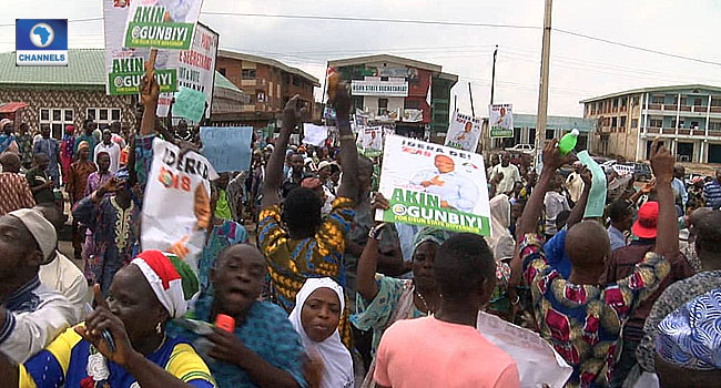 Osun PDP Primary: Delegates Protest, Allege Result Was Rigged