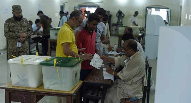 30 Killed In Pakistani Polling Station Blast