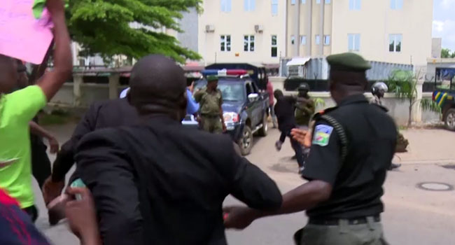 Confusion As Police, Peace Corps Clash In Abuja