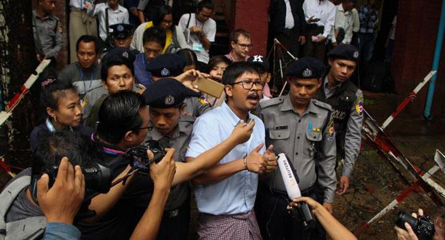 Jailed Myanmar Reuters Reporters File Appeal