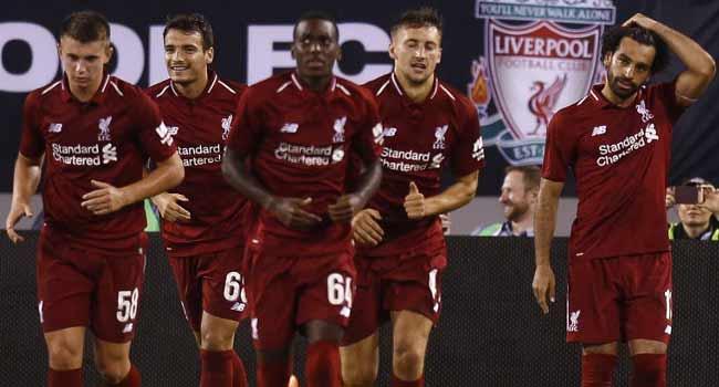 Salah, Mane On Target As Liverpool Down City