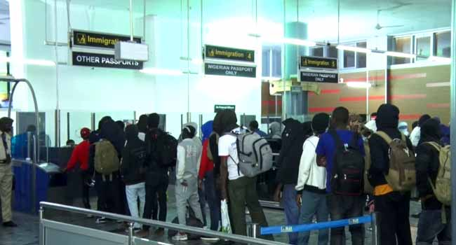 FG Launches Trafficking Probe As Nigerians Stranded In Russia Return
