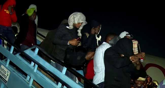 FG Repatriates 155 Nigerians From Russia