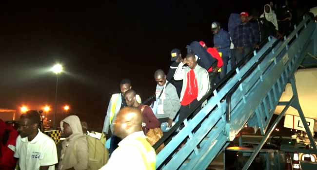 193 More Stranded Nigerians Return From Libya