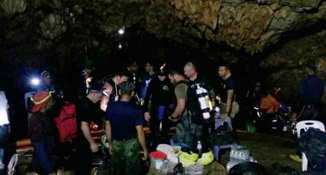 Missing Thai Boys 'Found Alive' In Caves Nine Days After