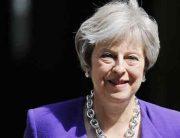 British Prime Minister, Theresa May, Visits Nigeria