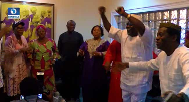 Jubilation In Isan Ekiti As Fayemi Wins Governorship Election