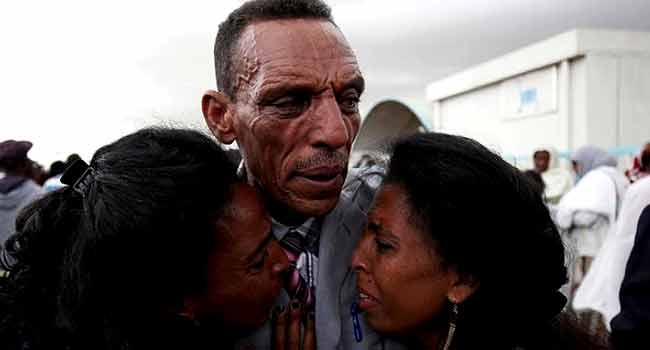 Ethiopian Man Reunites With Family In Eritrea, 18 Years After