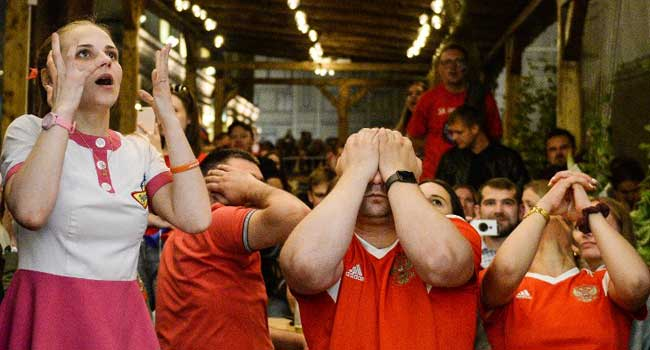 Russia's Fairytale World Cup Run Ends In Tears