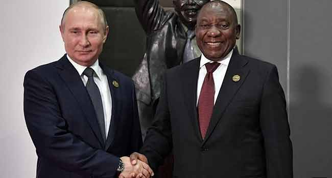 South Africa's Ramaphosa, Putin Agree To Discuss Nuclear Power Deal In Future