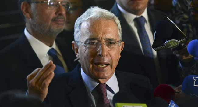 Colombia's Ex-President Uribe Reverses Resignation From Senate