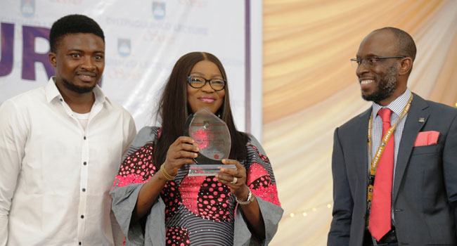 Ambode's Wife Asks Students To Shun Social Vices
