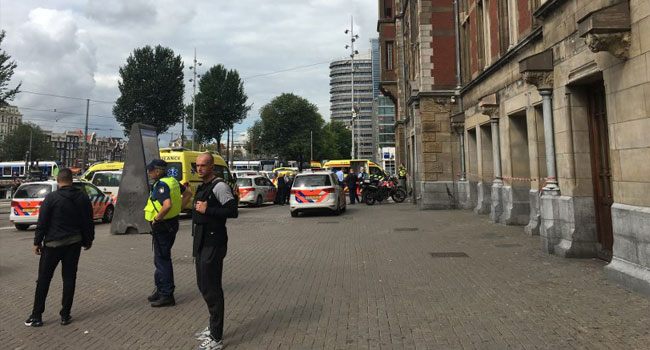 Police Shoot Two In Suspected Terror Attack In Amsterdam