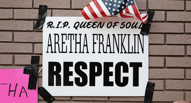 Aretha Franklin Celebrated During Sunday Service At Father's Baptist Church