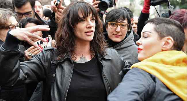 Actress Asia Argento Denies Sexual Relationship With Underage Teen