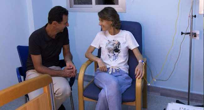 Syria's First Lady Diagnosed With Breast Cancer