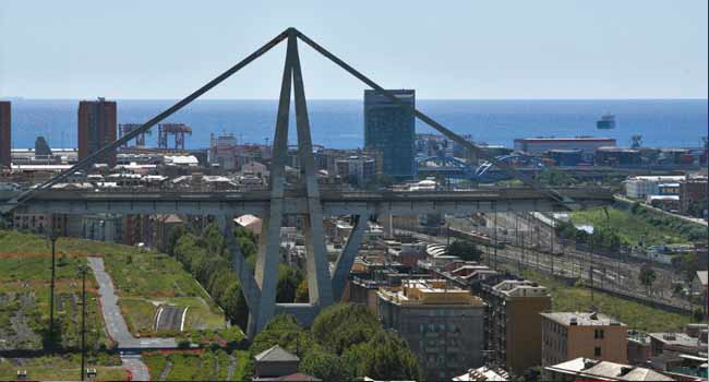 Shattered Lives After Bridge Collapses In Italy