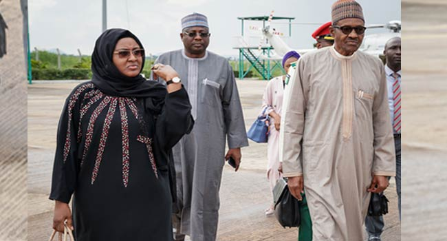 President Muhammadu Buhari along with his wife and daughter have left Abuja to China where the President is expected to participate in a summit