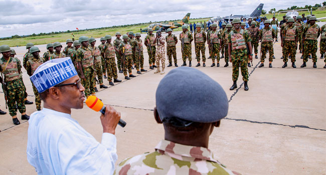 Buhari Asks Troops To 'Deal Ruthlessly' With Cattle Rustlers, Bandits