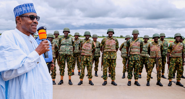Buhari Vows To Ensure Bandits, Kidnappers, Others Are Not Spared