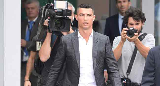 Ronaldo Set For Serie A Debut Amid Tight Security