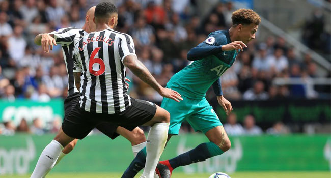 No Signings Problem For Tottenham As Alli Sinks Newcastle