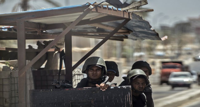 Egyptian Army Kills 52 Jihadists In Sinai Peninsula