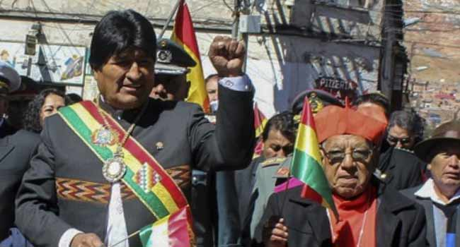 Bolivia's Historic Presidential Medal Stolen