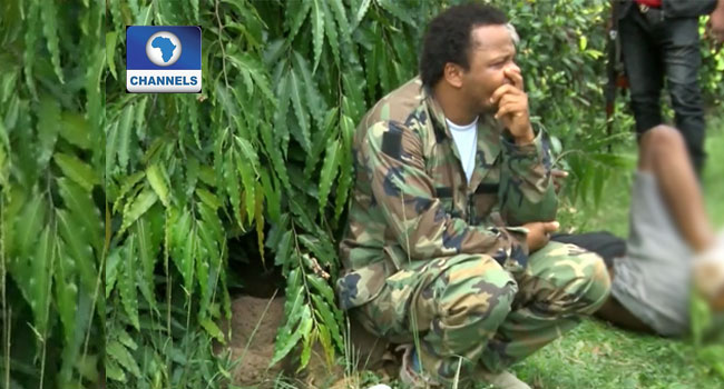 Imo Police Parade Fake U.S. Soldier Over Alleged Fraud