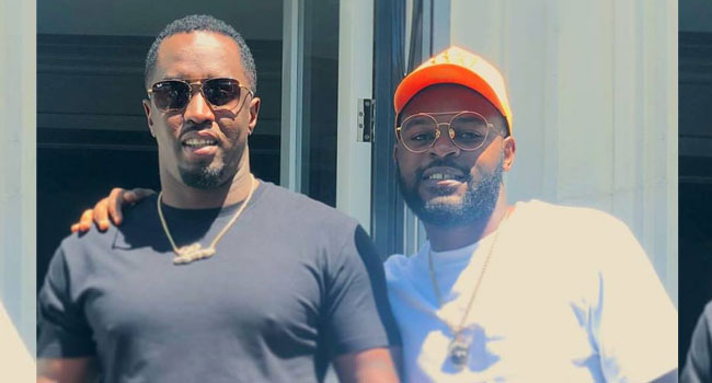 Falz Meets Diddy In California