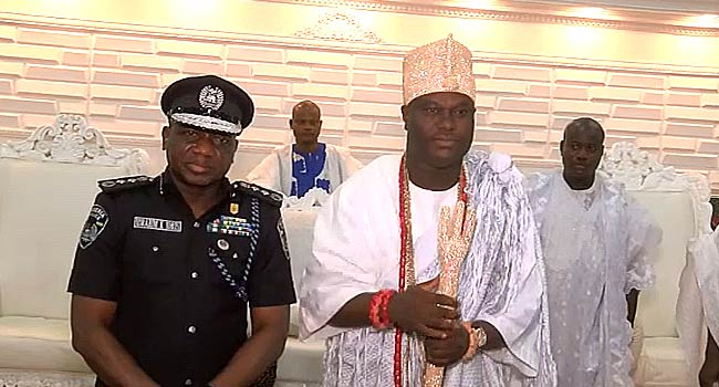 Osun Election: IGP Visits Ooni, Asks Traditional Rulers To Support Police