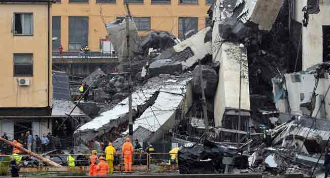 Italy Declares State Of Emergency After Bridge Collapse