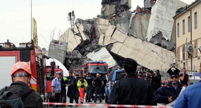 Sampdoria, Genoa's Serie A Games Postponed After Bridge Collapse