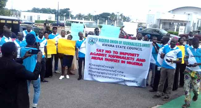 Alleged Harassment: Journalists Stage Peaceful Protest In Kwara, Ogun