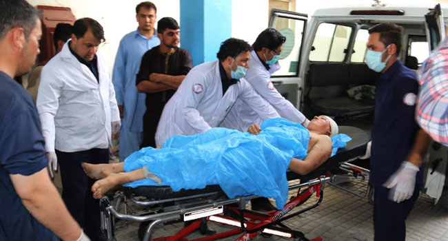 At Least 37 Killed As Suicide Attacker Hits Kabul School