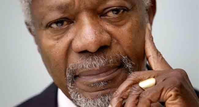 Kofi Annan's Contributions To Global Peace Will Remain In History – Buhari