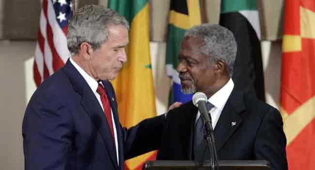 Key Dates In Kofi Annan's History
