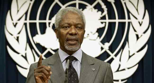 Jonathan, Saraki, Others Pay Tribute To Kofi Annan