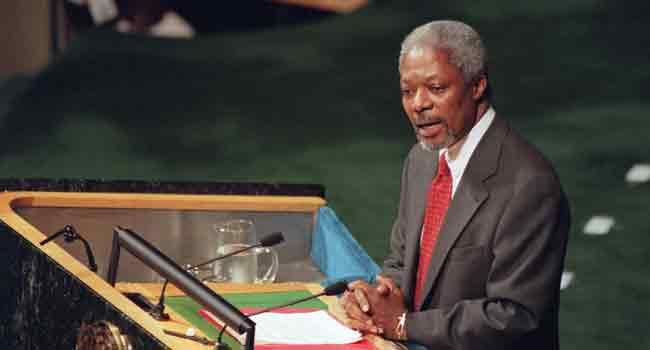 World Mourns Loss Of Ex-UN Chief Kofi Annan