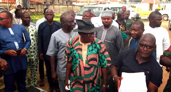 BREAKING! Ekiti Election: Olusola Challenges Fayemi's Victory At Tribunal