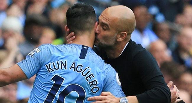 Aguero Bags Treble As Rampant City Hit Huddersfield For Six